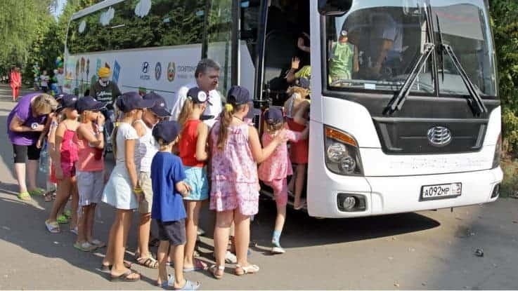 Физическая охрана и сопровождение детей