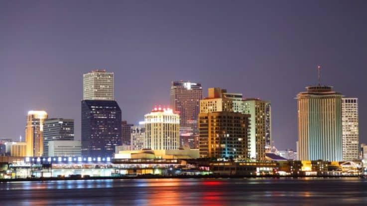 Популяризация сети видеонаблюдения в Новом Орлеане